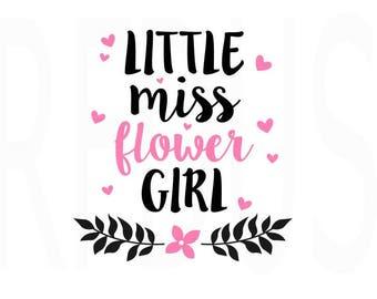 Little Miss Flower Girl SVG, Easy Cricut Cutting File, Wedding SVG, Engagement SVG. Petal Patrol Svg, Wedding Flower Girl Svg, Diy Wedding