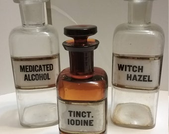 Vintage W.T. Co  Medicine Bottles