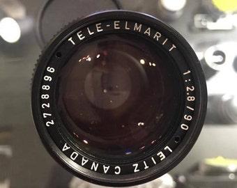 Leica Tele-elmarit 90mm f/2.8 Lens