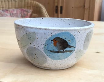 Cereal Bowl Robin