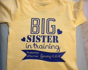 Big Brother/Sister announcement
