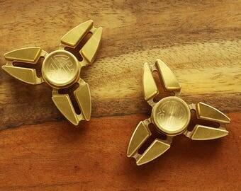 Engraved Fidget Spinner - Customized Metal Fidget Spinner - Personalized Fidget Spinner