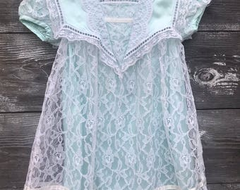 Vintage Jessica McClintock dress size 4T