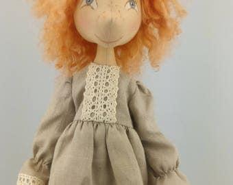 Cloth Doll Doll Rag dolls fabric doll cloth dolls Art Doll Textile Doll Doll Rag Doll ooakdoll handmade doll handmade dolls ooak Art Doll