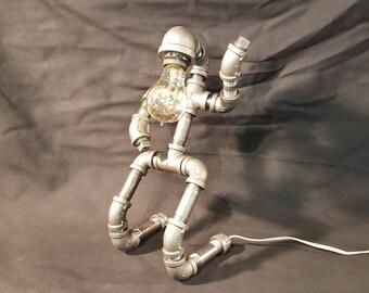 Pipe Lamp - Air Guitar Man