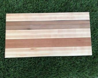 Hardwood cutting board - 11.5x22x1.25