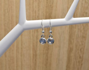 Minimalist Earrings | DQ Metal Nickel Free | Boho Earrings | Silver Earrings | Swarovski