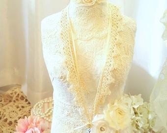 Romantic Lace Necklace - Jessie