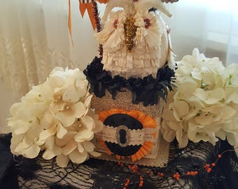 Halloween Party Owl Treat Container