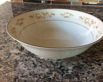 China / Serving Bowl /  International  Silver Co. from the 60's / Pattern is 326 Springtime
