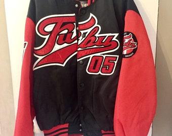 Vintage 90s Fubu Varsity Jacket L