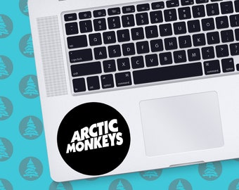 Arctic Monkeys Macbook Decal Alex turner Decal Arctic Monkeys Decal Music Decal Arctic Monkeys sticker Rock decal