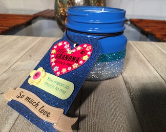 Customized Handmade Scented Candles