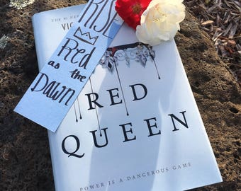 Rise, Red as the Dawn - Red Queen Bookmark