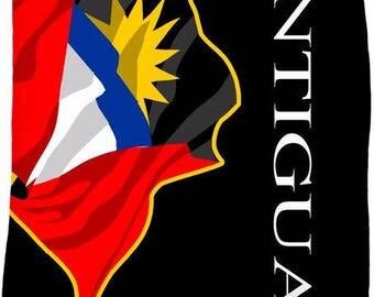 Antigua Flag Fleece Blanket