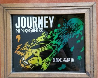 Vintage Journey Escape Carnival Mirror