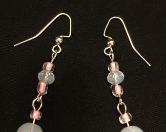 Moonstone Drop Earrings