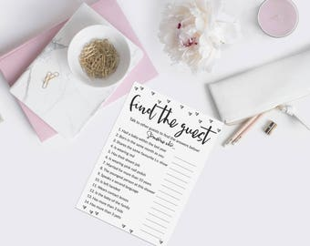 Find the guest game, Baby Shower Games, DIY Baby Shower Ideas, Gender Neutral, Printable, Instant Download