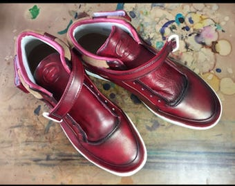Sneakers  Lacoste Ultra Patine Red Aster  JDConstance