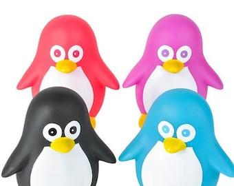 "6"" Rubber Penguin"