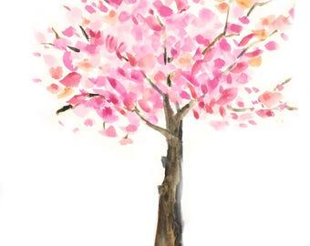 Cherry Tree Note Card