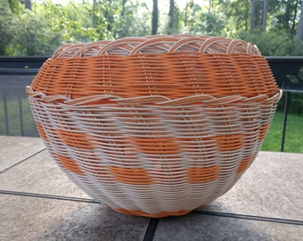 Double-wall Round Reed Basket - Extra Large