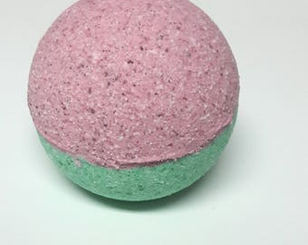 Pink and Green Sand - Bath Bomb