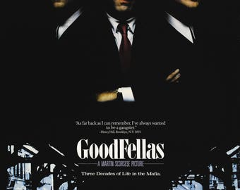 Goodfellas movie poster A4 size