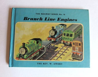 Thomas the Tank Engine: Branch Line Engines - Hardback Children's Picture Book