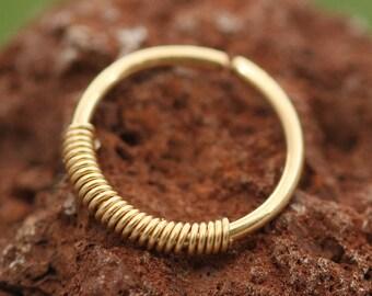 Nose Ring,Gold Nose Ring,20g nose ring,tiny nose ring,nose ring hoop,thin nose ring,