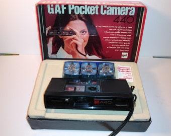 GAF Pocket Camera 440