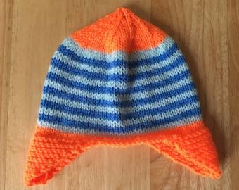 Children's Knitted Hat, Toddler Hat, Knitted Hat, Children's Hat