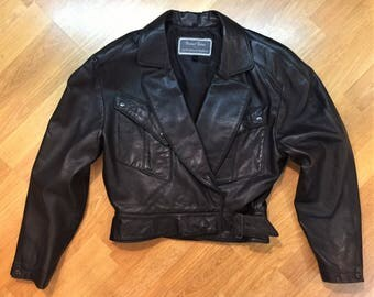 Vintage Women's Michael Hoban North Beach Leather Jacket