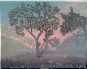 Original Painting - Early Morning Mist