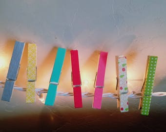 Designer Clothespins - Decorated Clothespins
