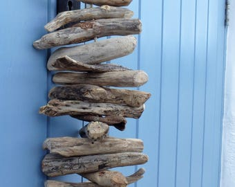 Natural driftwood garland