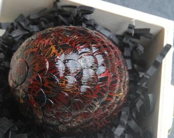 Deathwing Inspired Handmade Dragon Egg