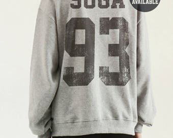 Suga Shirt Sweatshirt Kpop Shirt K Jungkook BTS Jersey Suga Jimin Jin Rap Monster Merch Jumper Oversize Tumblr K Drama Korean Fashion
