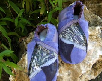 Purple baby shoes Gr. 25 Orient