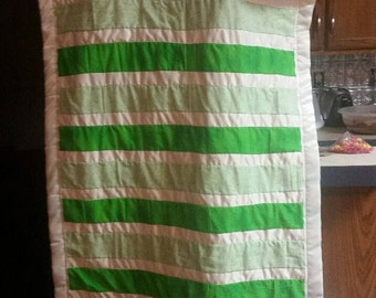 Baby football play quilt