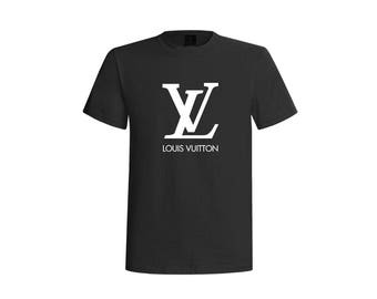 Louis vuitton inspired t shirt, Vuitton t shirt,  glitter LV shirt, birthday gift, designer inspired tee, vuitton clothing