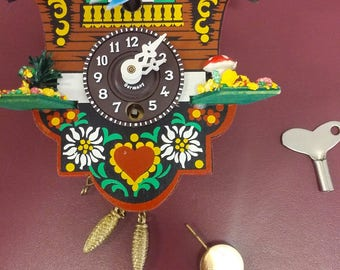 Anitique Mini Cuckoo Clock German Made