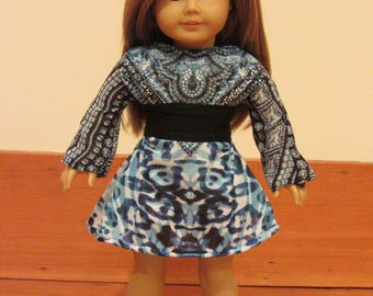 I'm Feelin' Blue and Fabulous Dress