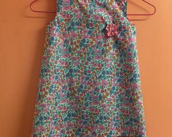 T4 years Liberty Poppy Daisy Girl dress
