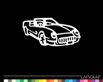 Cut scrapbooking cabriolee car vehicle cut paper embellishment die cut creation