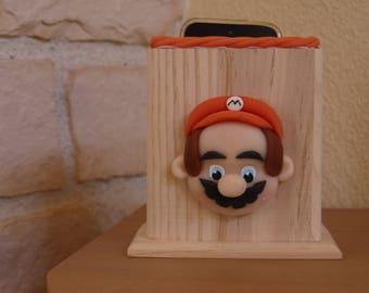 Range lunettes, portable ou télécommande version  Mario