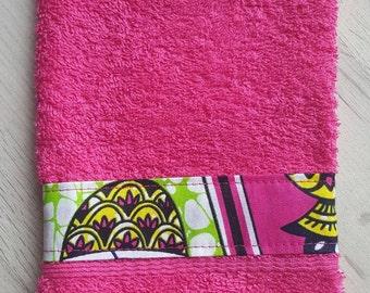 Washcloth Wax