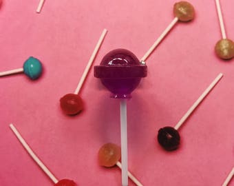 Lollipop Brooches