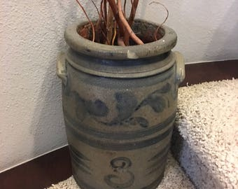 3 Gallon Antique Crock