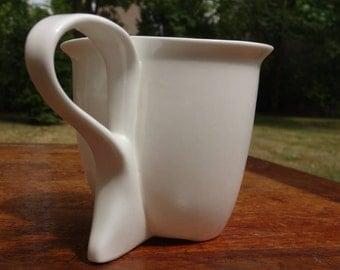 Porcelain cup Lily